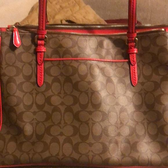 Coach Handbags - Large coach tote bag